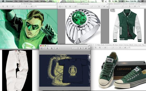 Green Lantern Casual