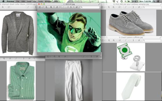 Green Lantern Formal