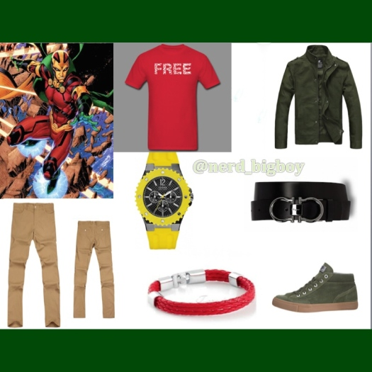 Mister Miracle Outfit