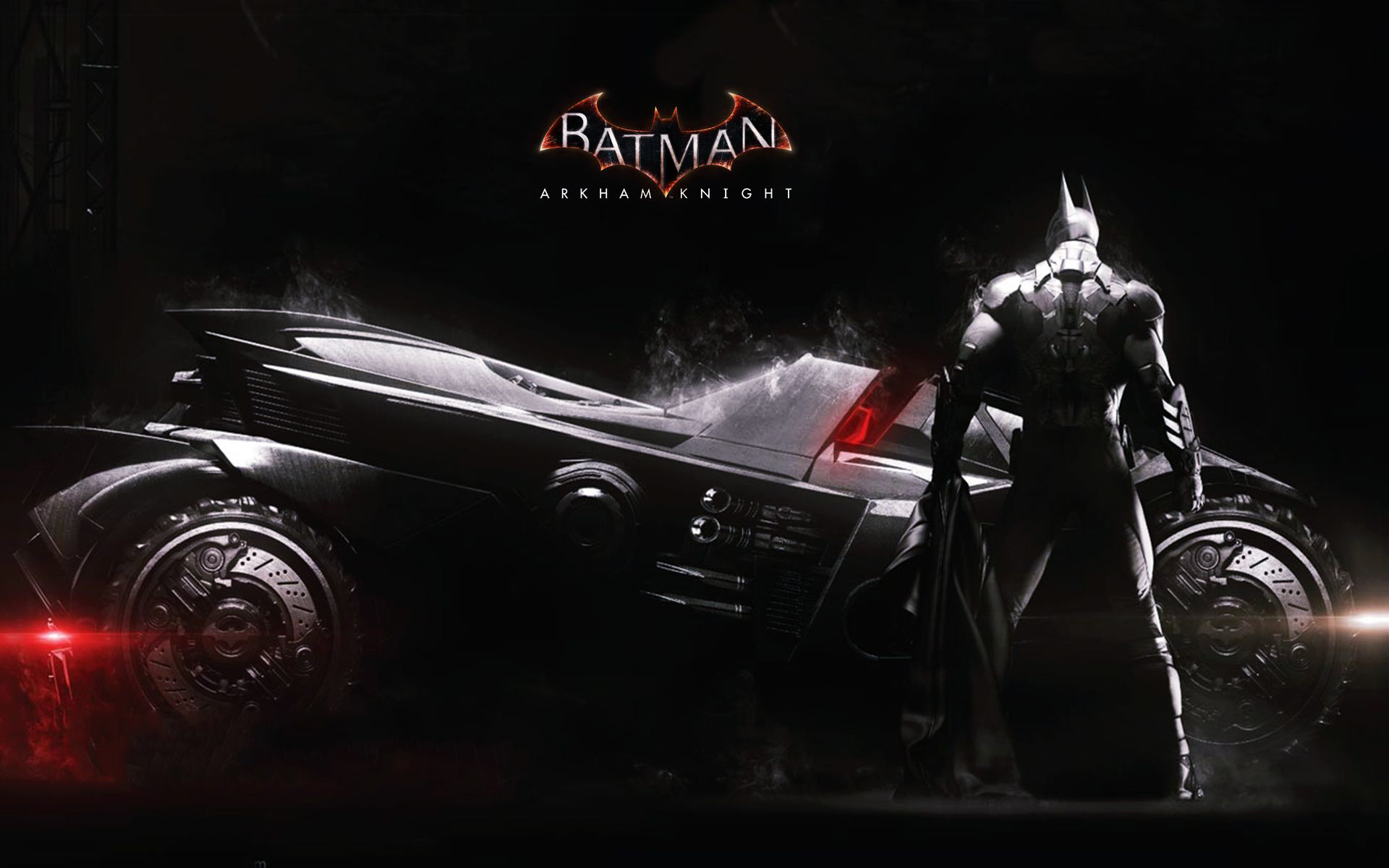 2014 Batman Arkham Knight Batmobile HD Wallpapers