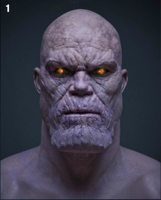 Avengers-Behind-the-Scenes-Photo-Thanos-Prosthetic