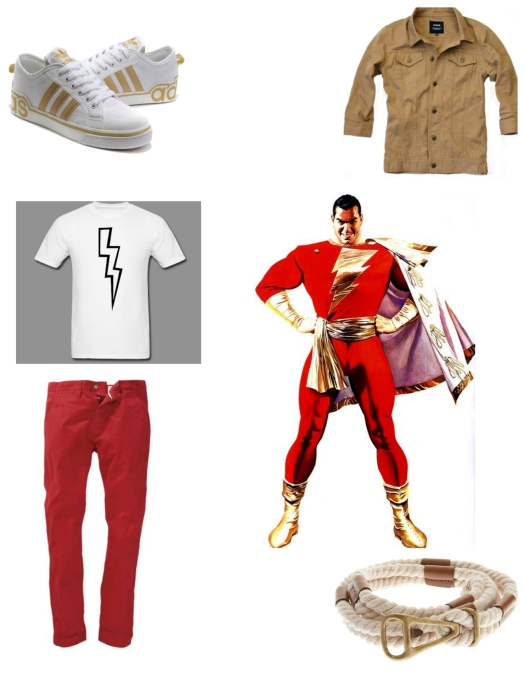 Shazam Revision Casual